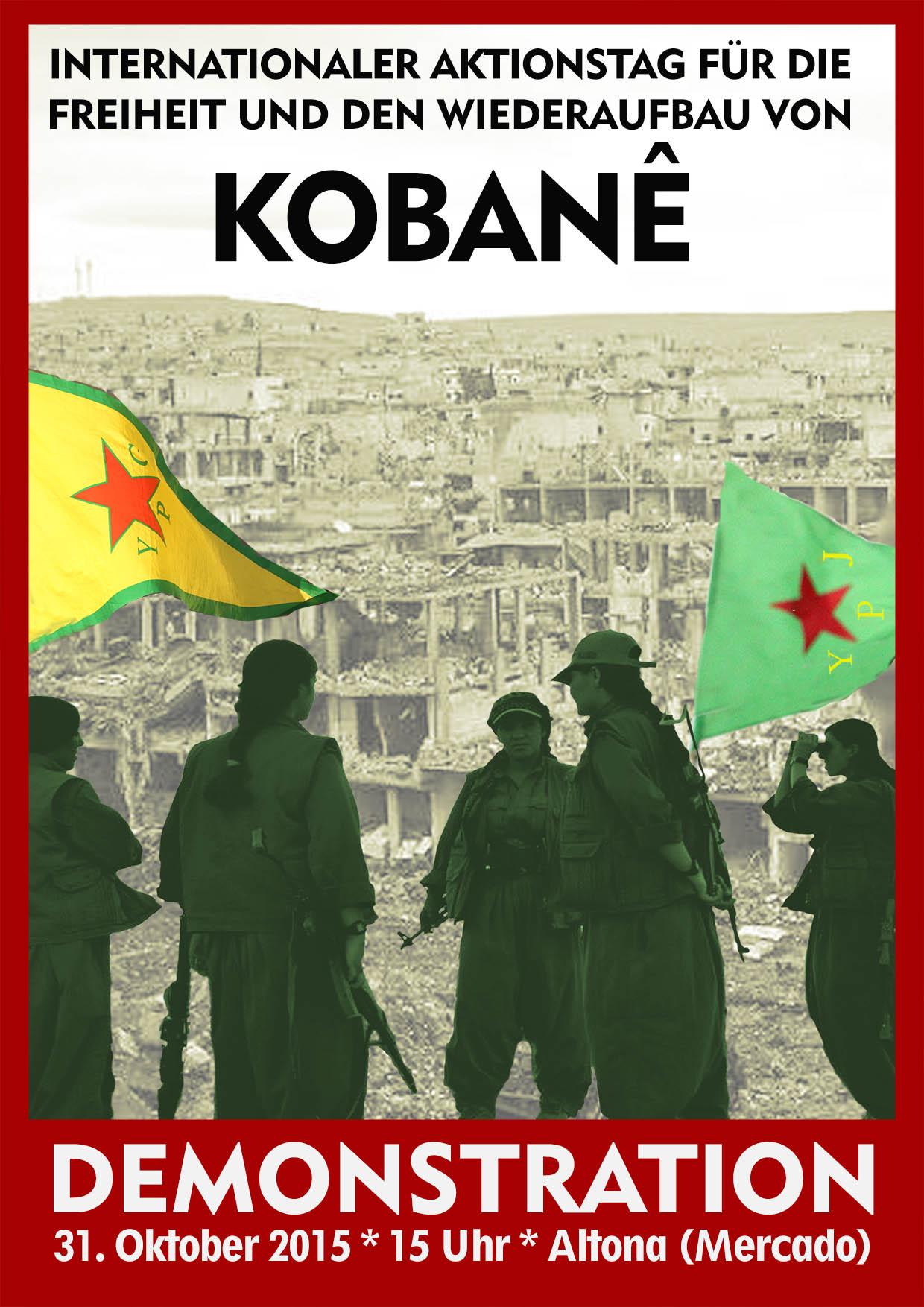 Tag der internationalen Solidarität mit Kobanê
