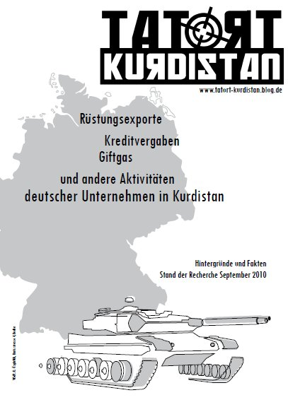 Reader TATORT Kurdistan 09/2010 (Cover)