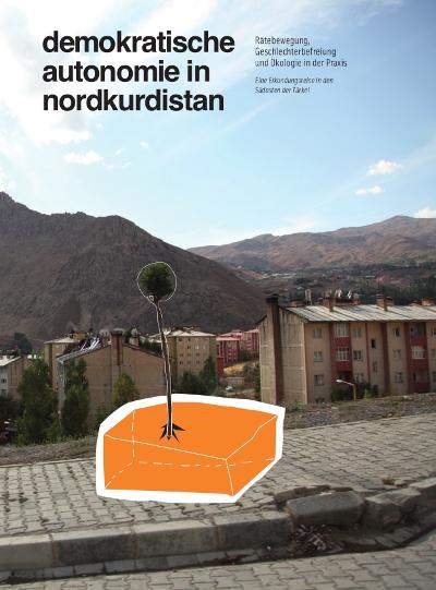 """Cover \""""demokratische autonomie in nordkurdistan\"""", 1.Auflage 2012"""