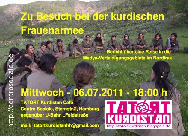 Hamburg, 06.07.11, TATORT Kurdistan Café