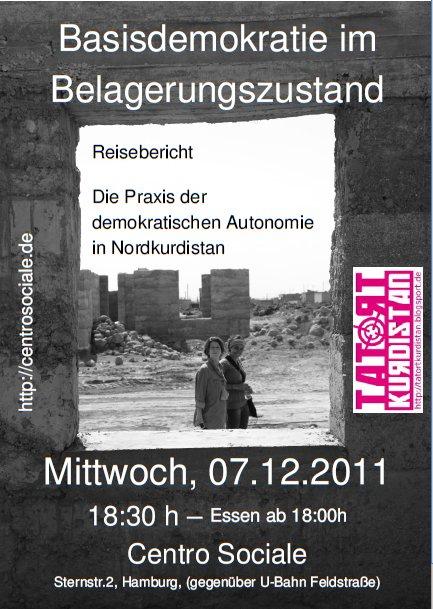 Hamburg, 07.12.2011, Veranstaltung