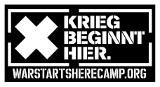 War Starts Here Camp gegen das Gefechtsübungs-Zentrum Altmark (GÜZ)