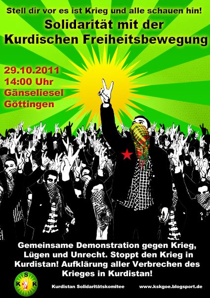 Link zur Seite des Kurdistan Solikomitees Göttingen