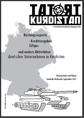 Reader mit Hintergrundtexten der Kampagne TATORT Kurdistan - 09/2011