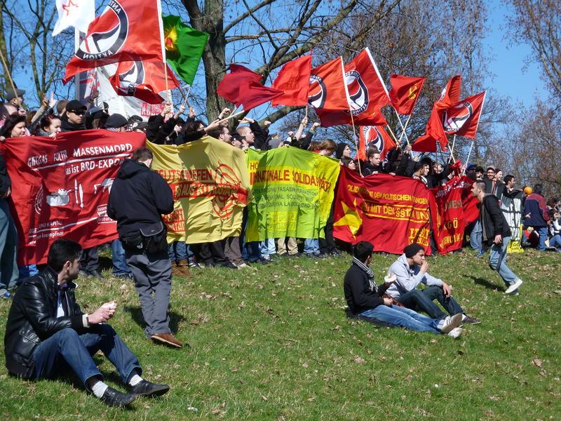 Düsseldorf 19.03.2011, Newroz-Demo, TATORT Kurdistan Block